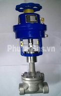 cryogenic globe valve air actuated djq 1