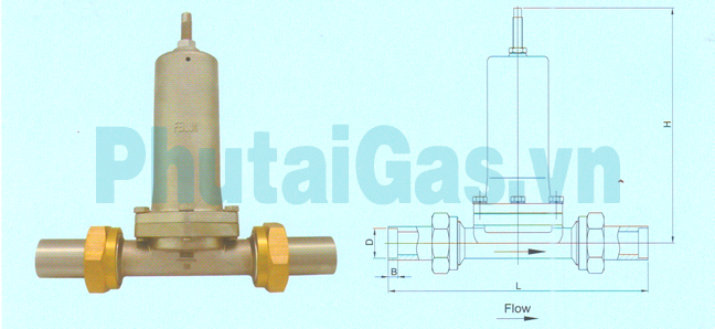 dyj 25 cryogenic economizer reducing valve for liquid gas tank 1