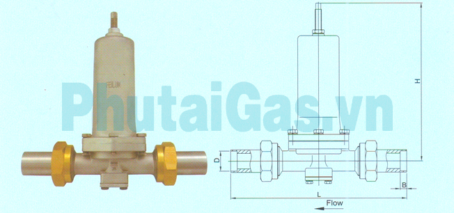 dys 25 cryogenic pressure building regulator valve for liquid gas tank 1