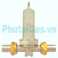 dys 25 cryogenic pressure building regulator valve for liquid gas tank
