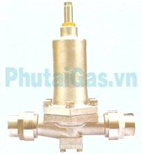 dys 40 50 cryogenic pressure building regulator valve for liquid gas tank