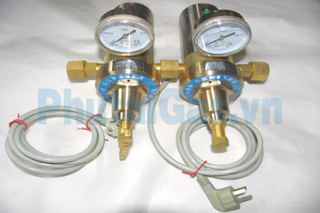 yqt 11 electrical heating co2 regulator valve 1
